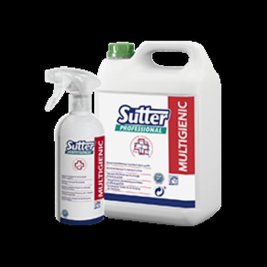 Sutter Multigienic általános felületfertőtlenítő 500ml 12db/gyűjtő