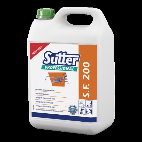 Sutter SF 200 konyhai vízkőoldó 5kg 4kanna/gyűjtő
