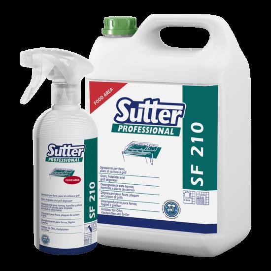 Sutter SF 210 hideg zsíroldószer 5kg 4kanna/gyűjtő