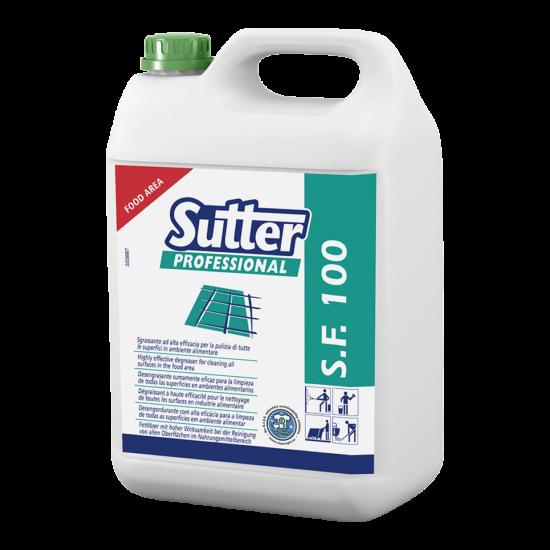 Sutter SF 100 élelmiszeripari zsírtalanító tisztítószer 5kg 4kanna/gyűjtő