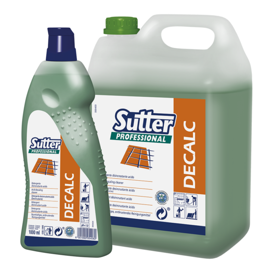 Sutter Decalc vízkőoldó 5kg 4kanna/gyűjtő