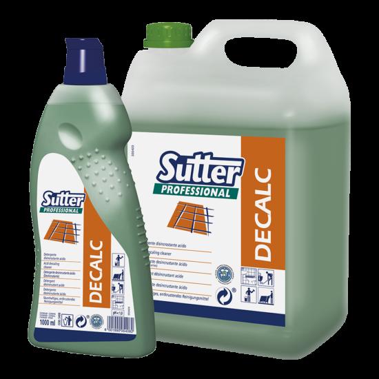 Sutter Decalc vízkőoldó 1000ml 12db/gyűjtő