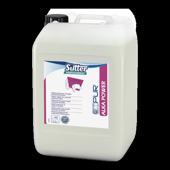 Sutter Alka Power folyékony mosásrásegítő professzionális mosodák részére 24kg