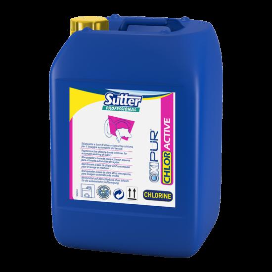 Sutter Chlor Active aktív klór tartalmú fehérítő mosodák részére 24kg