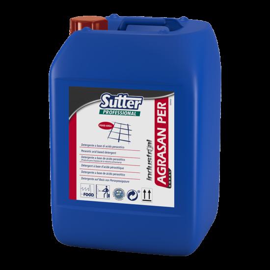 Sutter Agrasan Per perecetsav tartalmú élelmiszeripari tisztítószer CIP 20kg