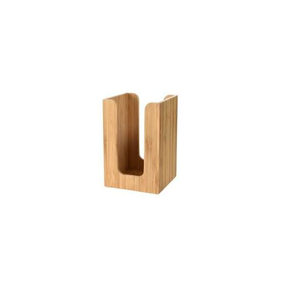 Duni bambusz szalvétatartó 11x11cm 4db/gyűjtő