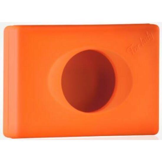 Trend higiéniai tasak adagoló, ABS narancs soft touch