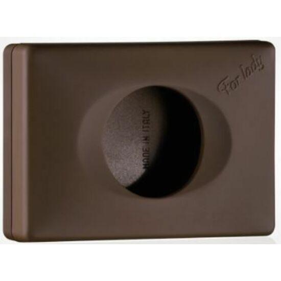 Trend higiéniai tasak adagoló, ABS barna soft touch