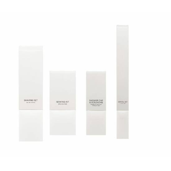 White and Black vanity szett kartondobozban 250db/karton