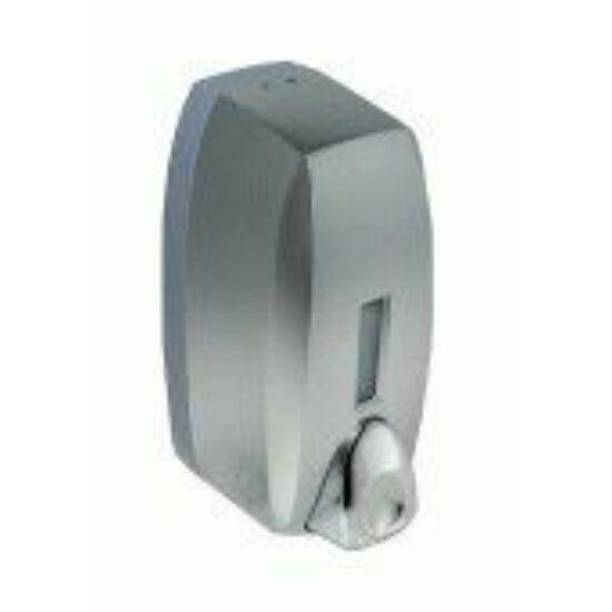 Bisk habszappan adagoló ABS műanyag matt ezüst 750ml 6db/gyűjtő
