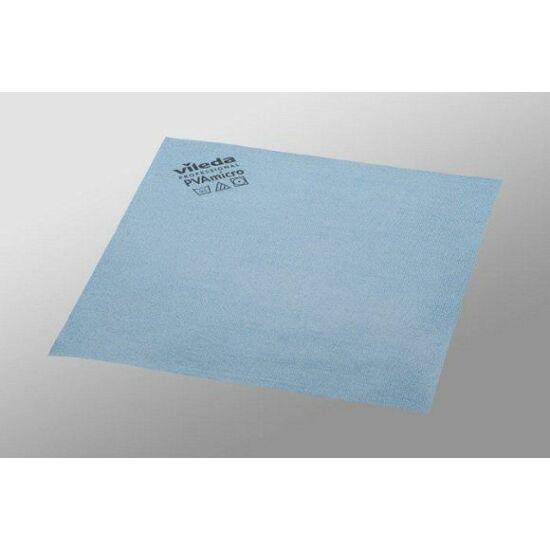 Vileda PVAmicro mikroszálas törlőkendő kék 38x35cm 5db/csomag