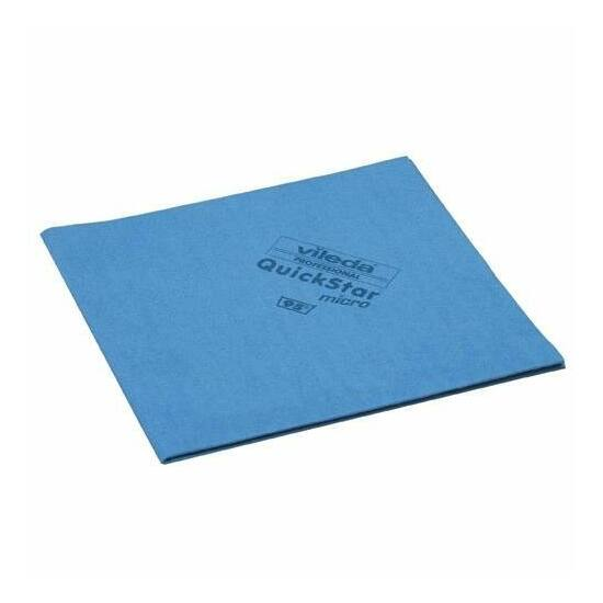 Vileda MicronQuick vegyszerálló törlőkendő kék 38x40cm 5db/csomag