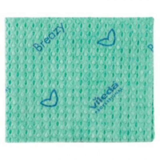 Vileda New Breazy antibakteriális törlőkendő kék 35x35cm 25db/csomag
