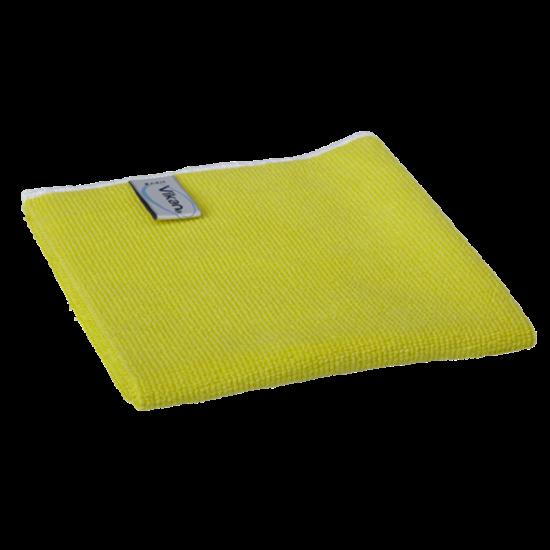 Vikan Basic mikroszálas törlőkendő sárga 32x32cm