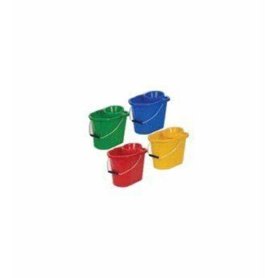 Vikan műanyag vödör facsaróval, 15 l, zöld