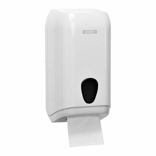 Katrin hajtogatott toalettpapír adagoló, műanyag