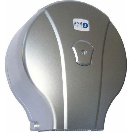 Easy tekercses toalettpapír adagoló mini matt ezüst ABS