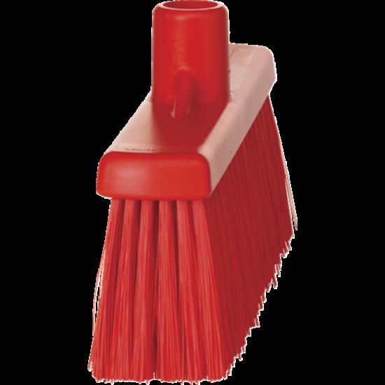 Vikan egyenes nyakú seprű, piros 310 mm