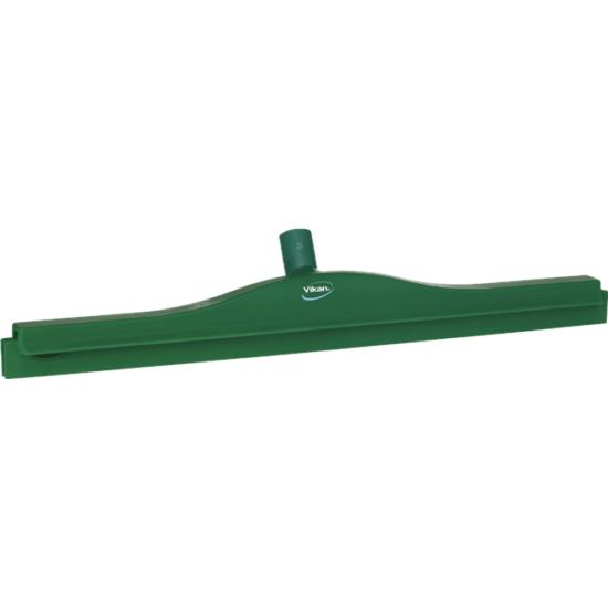 Vikan gumibetétes vízlehúzó, forgó nyakkal, 600 mm, zöld