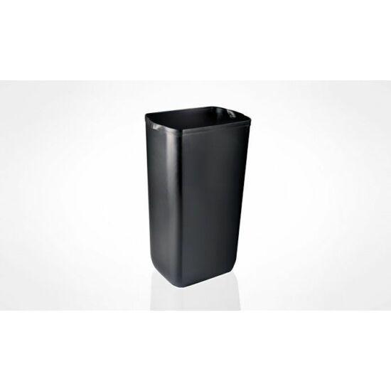 Trend szemetes, falra szerelhető, soft touch fekete 23L