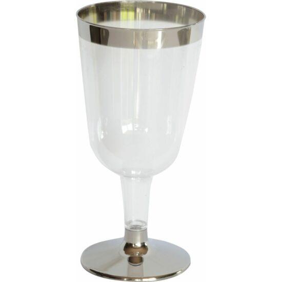 Duni műanyag boros pohár Celebrations 180ml 12x12db/gyűjtő