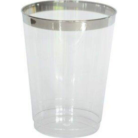 Duni műanyag vizespohár Celebrations 300ml 12x12db/gyűjtő