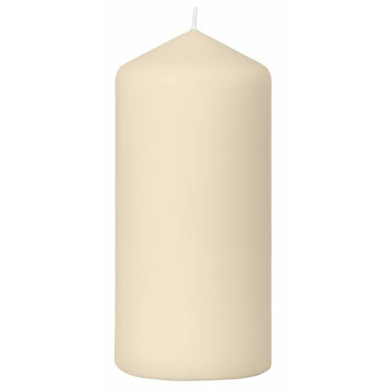 Duni Pillar gyertya matt Sand 150x70mm 2x6db/gyűjtő
