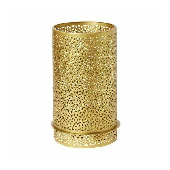 Duni Bliss gyertyatartó arany 200x120mm 4db/gyűjtő