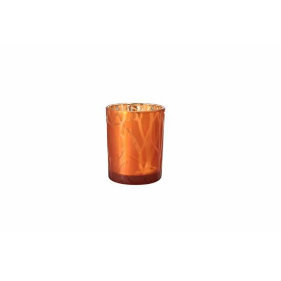 Duni Shimmer gyertyatartó Rust 100x80mm 6db/gyűjtő