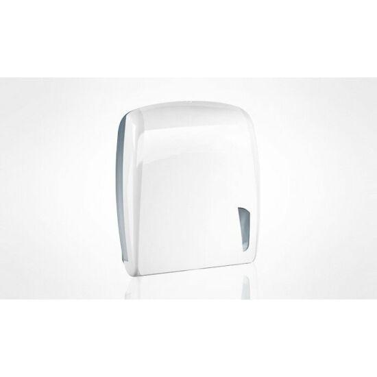 Trend hajtogatott kéztörlő adagoló midi ABS fehér
