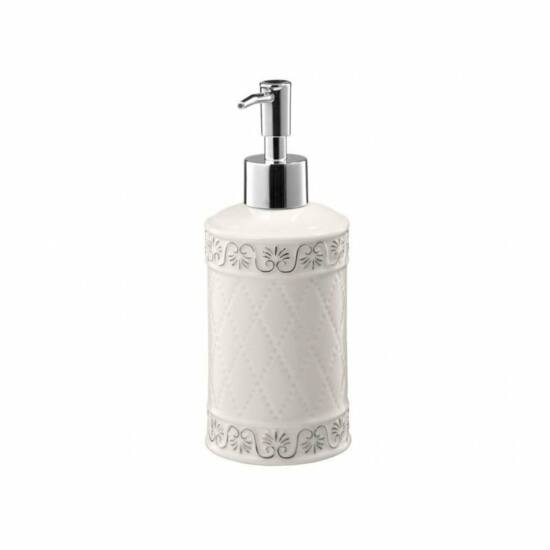 Bisk Castello folyékony szappan adagoló, fehér
