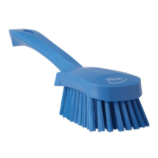Mosogatókefe rövid nyéllel, kék, 270mm
