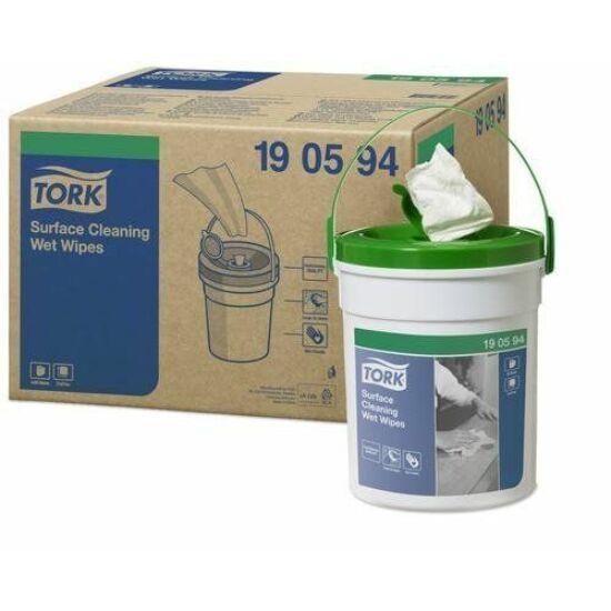 Tork Premium nedves felülettisztító kendő 1rtg 13,5x15,7cm 4db/gyűjtő