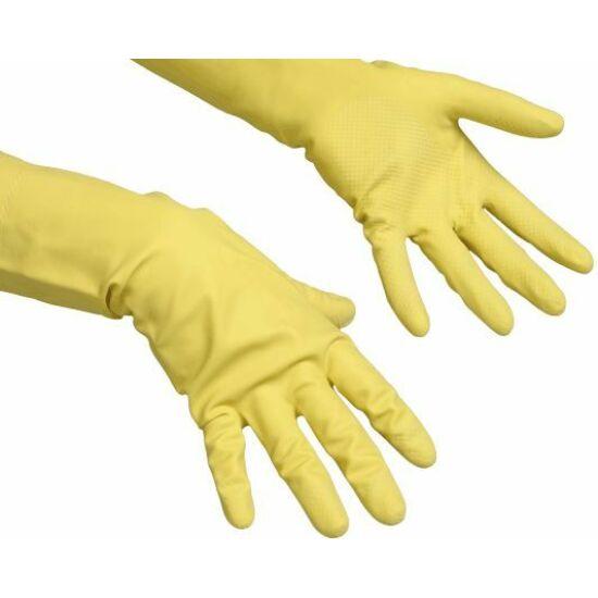 Vileda Multipurpose gumikesztyű sárga S méret 1pár/csomag