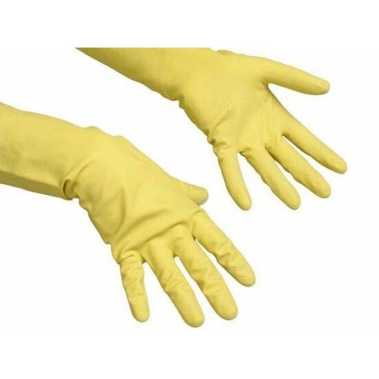 Vileda Contract gumikesztyű sárga S méret 1pár/csomag