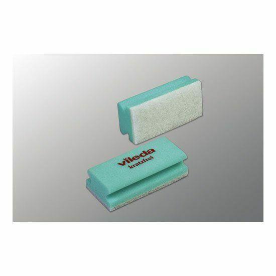 Vileda Non-scratch karcmentes szivacs zöld 7x15x4,5cm 10db/csomag
