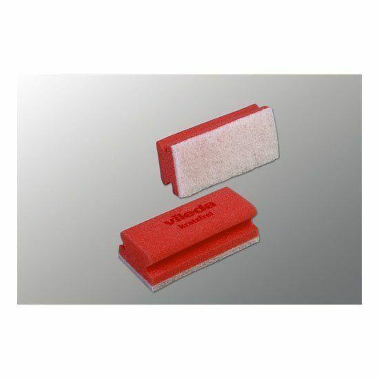 Vileda Non-scratch karcmentes szivacs piros 7x15x4,5cm 10db/csomag