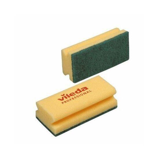 Vileda mosogatószivacs zöld/sárga 7x15x4,5cm 1db/csomag