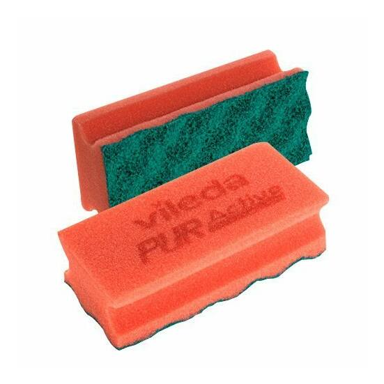 Vileda PUR Active szivacs piros 7x15x4,5cm 10db/csomag
