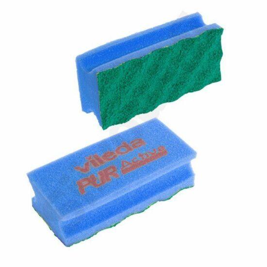 Vileda PUR Active szivacs kék 7x15x4,5cm 10db/csomag