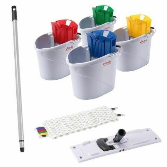 Vileda UltraSpeed Mini Starter Kit felmosó készlet (vödör, facsaró, moptartó, mop, nyél)