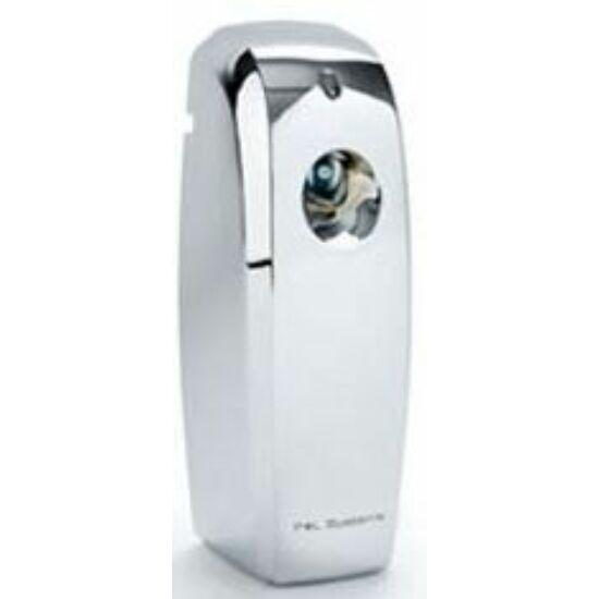 P+L LCD programozható légfrissítő adagoló króm ezüst 270ml