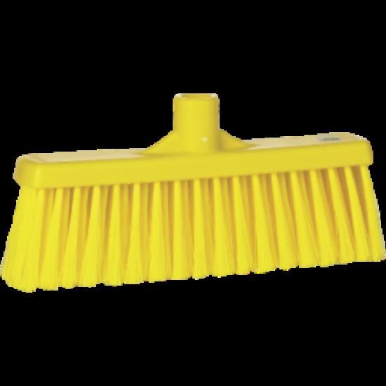 Vikan Egyenes nyakú seprű, sárga 310 mm