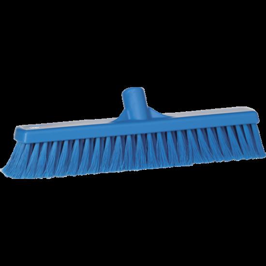 Vikan Lágy padlózat seprű, 400 mm, kék