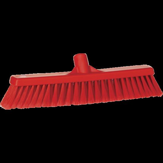 Vikan Lágy padlózat seprű, 400 mm, piros