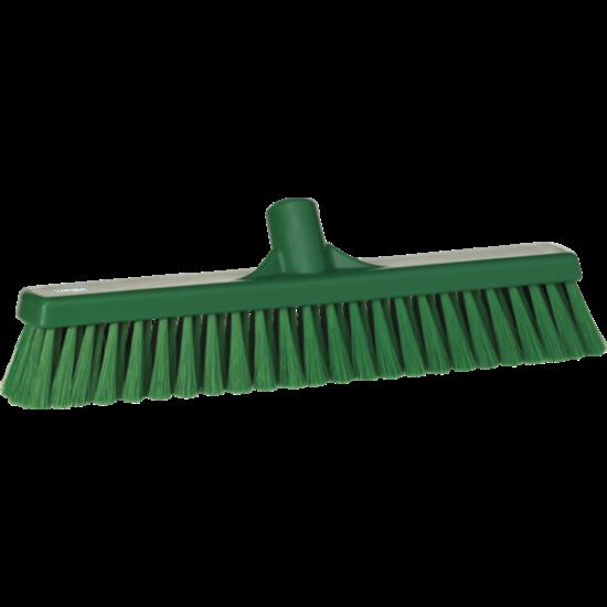 Vikan Lágy padlózat seprű, 410 mm zöld
