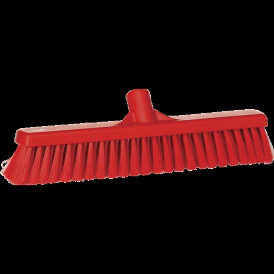 Vikan Lágy padlózat seprű, 400 mm piros