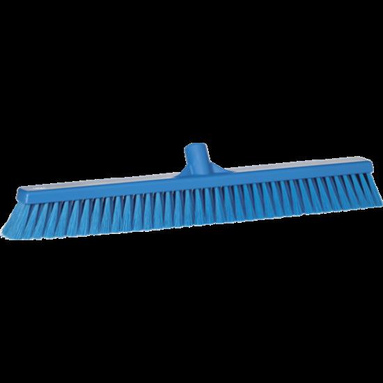 Vikan Lágy padozat seprű, 610mm, kék