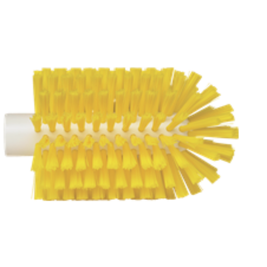 Vikan Cső/szennyvízelvezető-cső tisztító kefe, közepes, sárga