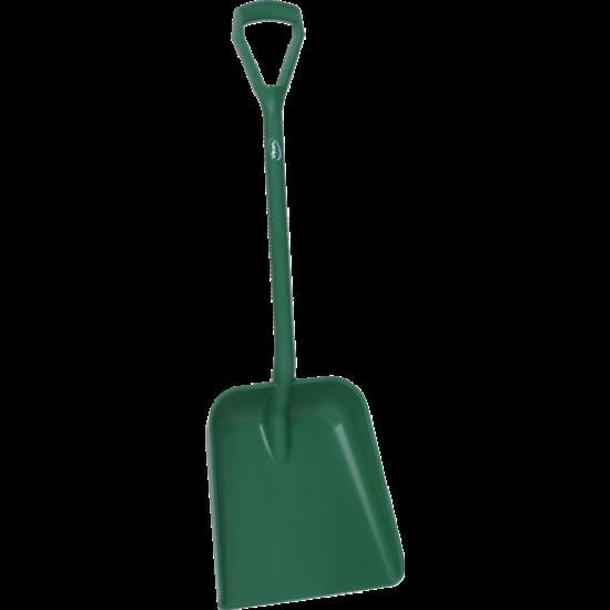 Vikan Lapát -D markolat, rövid nyél, mély lapát, zöld